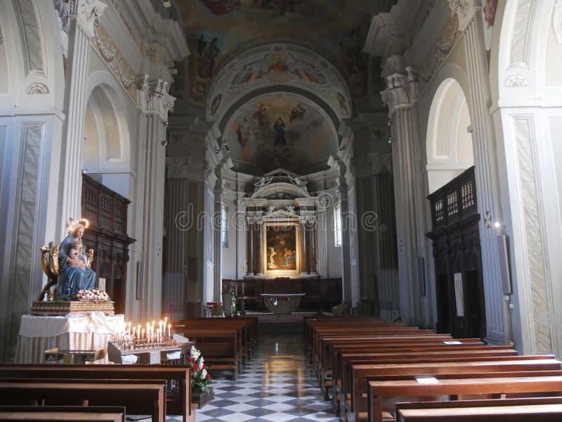 Άδυτο της Virgin σε Bobbio στοκ εικόνες