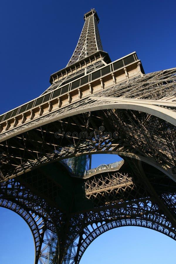 Άιφελ που ανατρέχει πύργο στοκ εικόνα με δικαίωμα ελεύθερης χρήσης