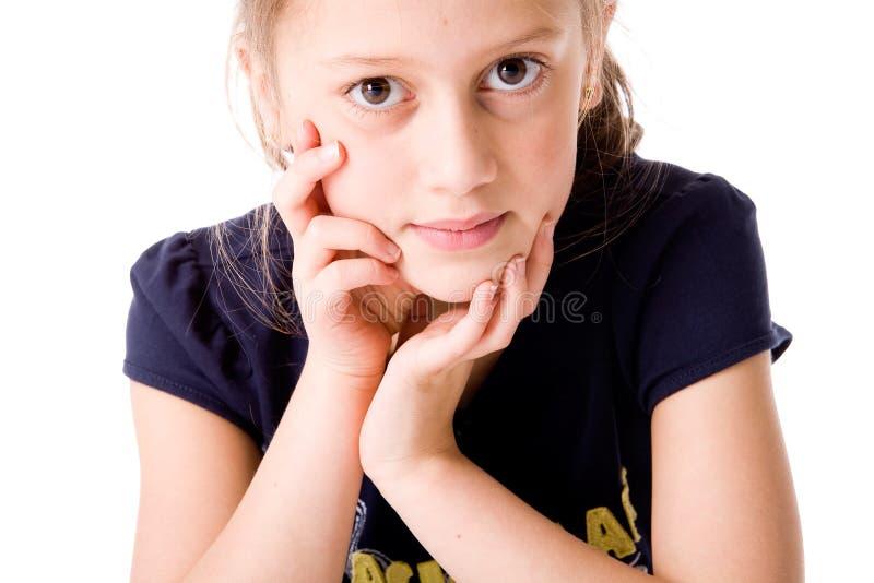 άκουσμα παιδιών στοκ φωτογραφία με δικαίωμα ελεύθερης χρήσης
