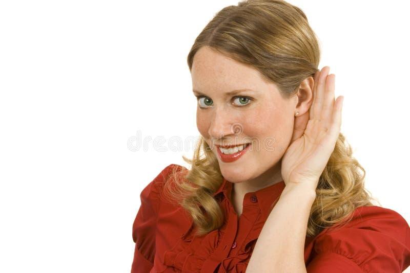 άκουσμα στοκ φωτογραφίες με δικαίωμα ελεύθερης χρήσης