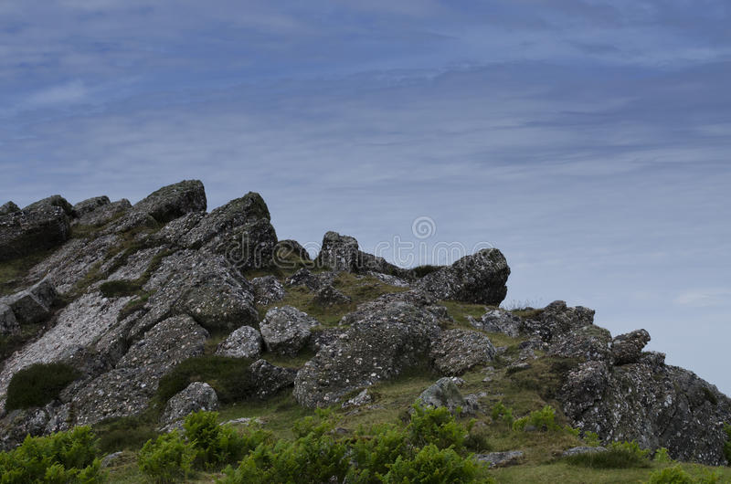 Άκρη απότομων βράχων στοκ φωτογραφία