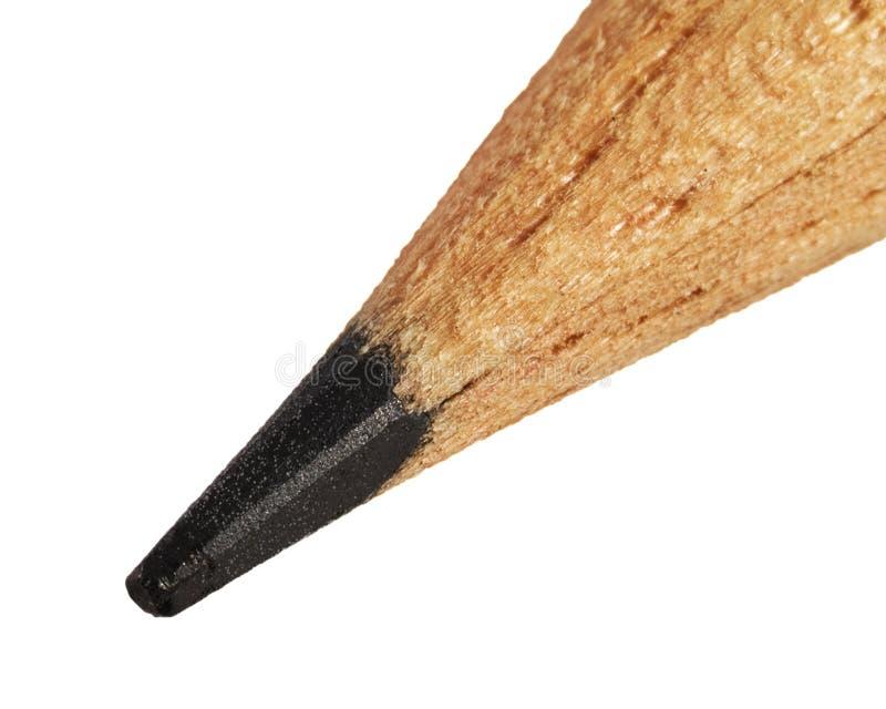 άκρη μολυβιών μολύβδου στοκ εικόνες