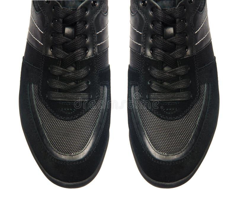 Download Άκρη παπουτσιών που απομονώνεται των αθλητικών στο λευκό Στοκ Εικόνες - εικόνα από υποδήματα, άτομα: 62709546