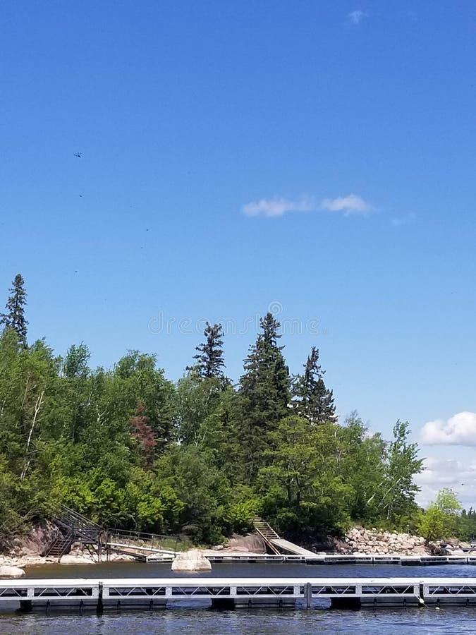Άκρη της λίμνης στοκ φωτογραφίες