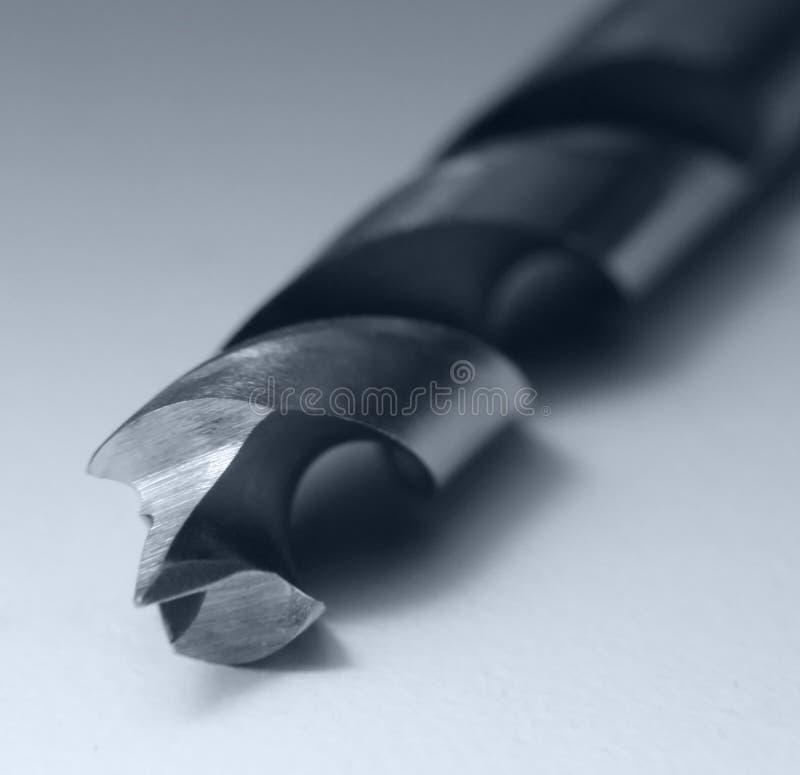 άκρη τρυπανιών δυαδικών ψηφίων στοκ εικόνα με δικαίωμα ελεύθερης χρήσης