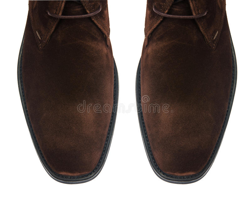 Download Άκρη των αρσενικών παπουτσιών που απομονώνεται στο λευκό Στοκ Εικόνες - εικόνα από μουλάρια, μοναχός: 62709464