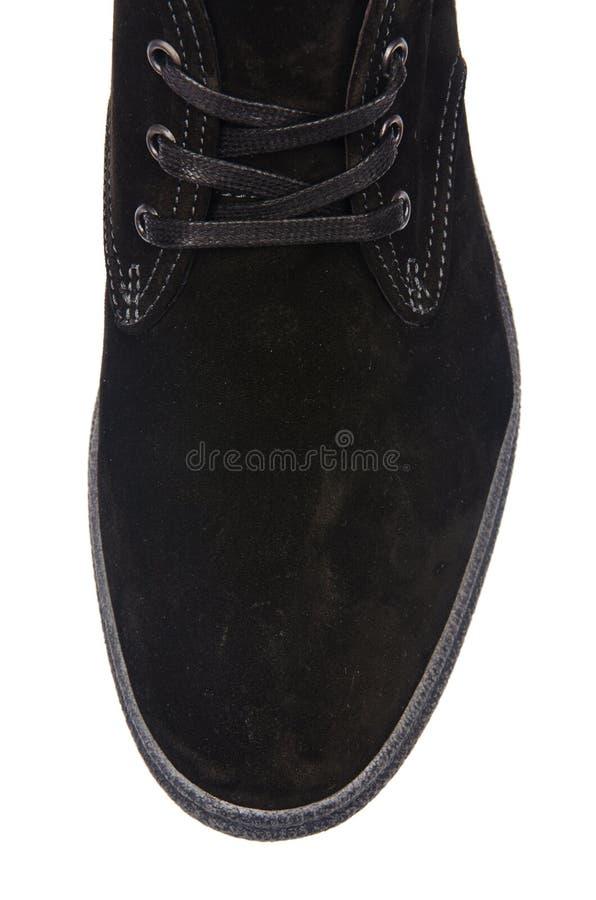 Download Άκρη των αρσενικών παπουτσιών που απομονώνεται στο λευκό Στοκ Εικόνα - εικόνα από διακοπή, επιλογή: 62709755