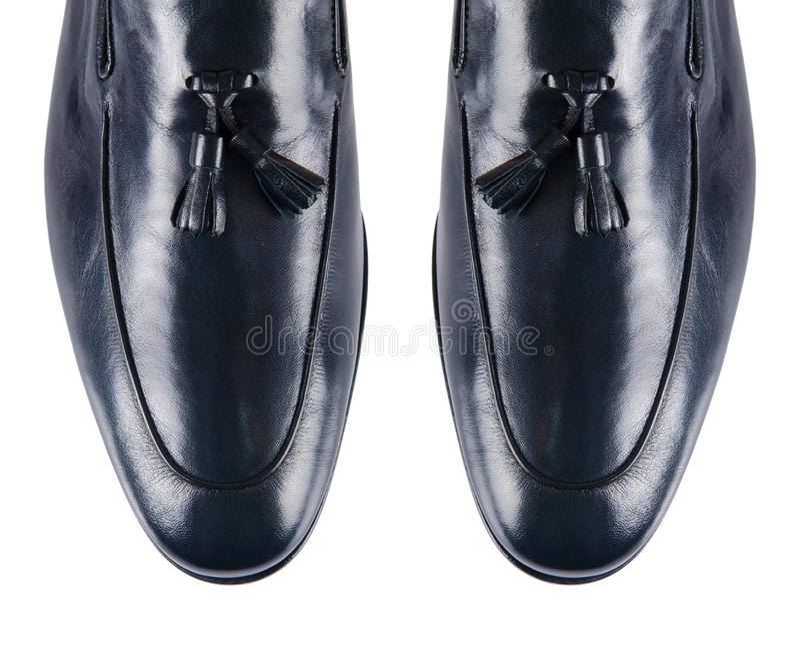 Download Άκρη των αρσενικών παπουτσιών που απομονώνεται στο λευκό Στοκ Εικόνες - εικόνα από άτομα, διακοπή: 62711094