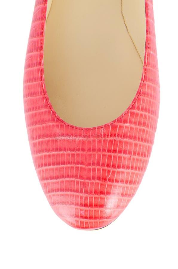 Download Άκρη των παπουτσιών γυναικών που απομονώνεται στο λευκό Στοκ Εικόνα - εικόνα από παπούτσι, πόδι: 62710605