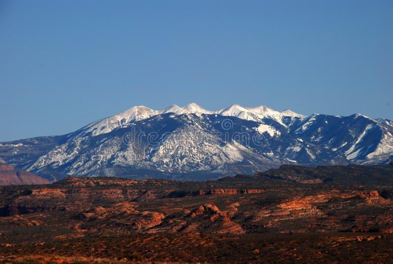 άλας βουνών Λα στοκ εικόνες με δικαίωμα ελεύθερης χρήσης