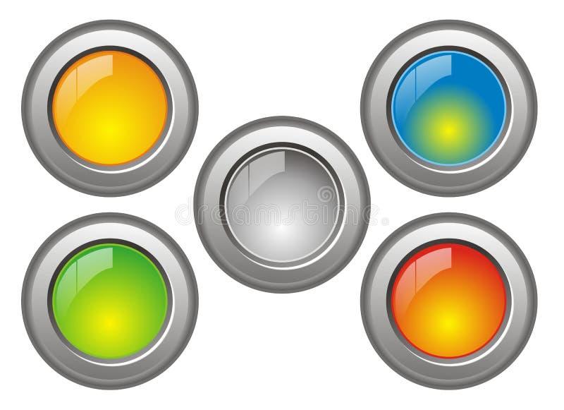 άλλος κουμπώνει το δρο&sigm διανυσματική απεικόνιση