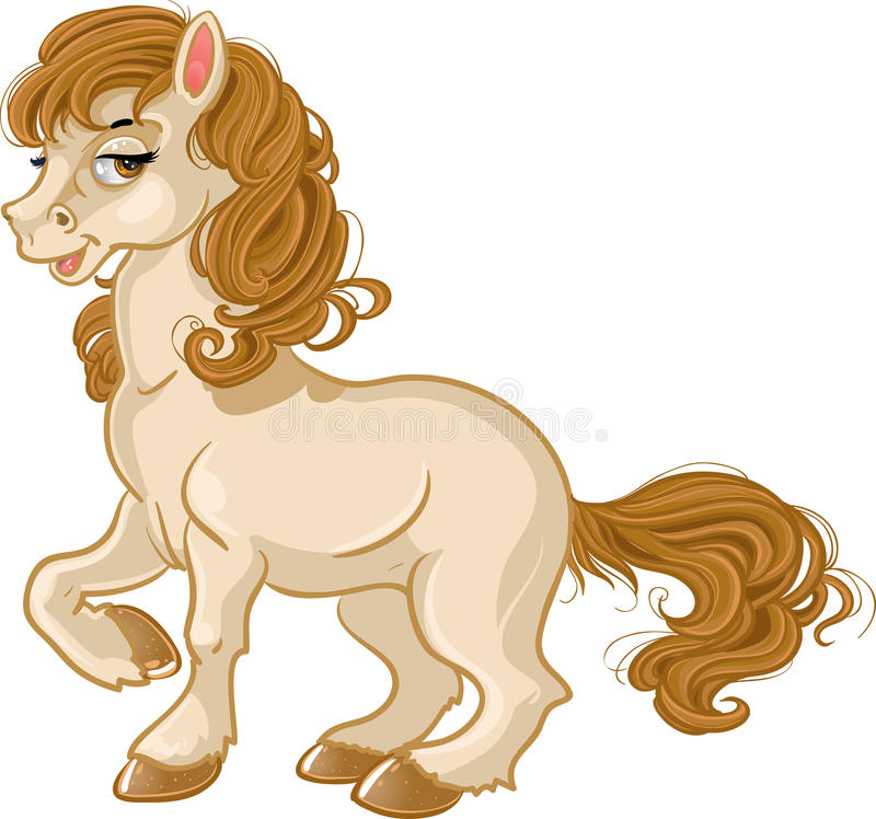 άλογο αρκετά απεικόνιση αποθεμάτων