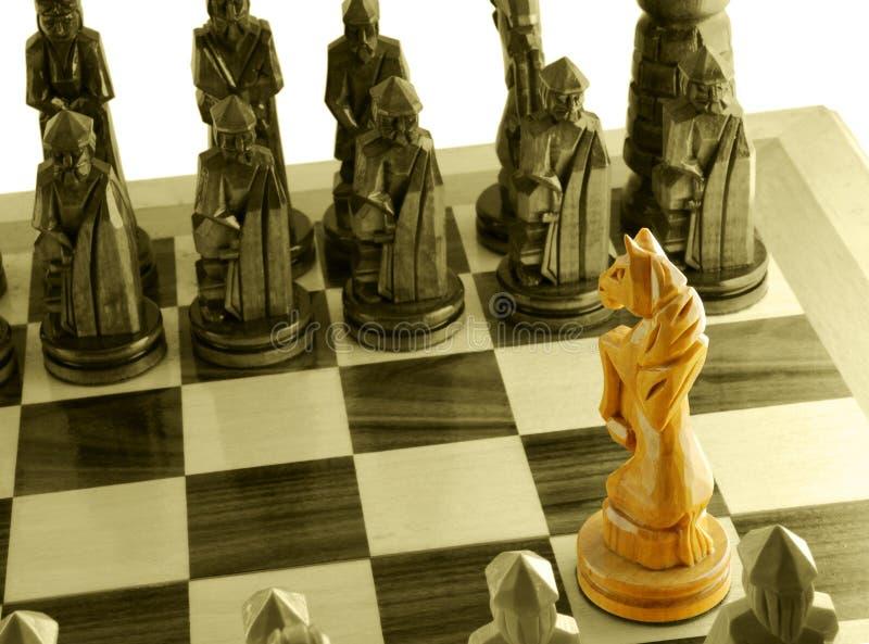 άλογο σκακιού μοναδικό στοκ φωτογραφίες με δικαίωμα ελεύθερης χρήσης