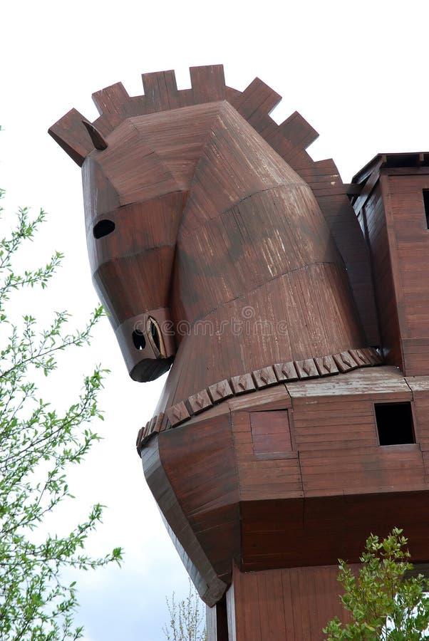 άλογο τρωικό στοκ φωτογραφία με δικαίωμα ελεύθερης χρήσης