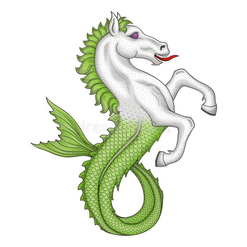 άλογο ψαριών ελεύθερη απεικόνιση δικαιώματος