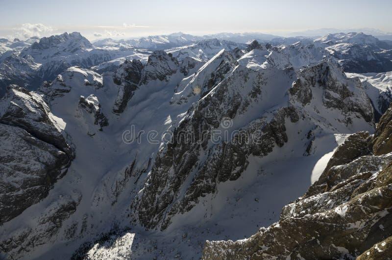Άλπεις βουνών στην Ιταλία στοκ φωτογραφίες