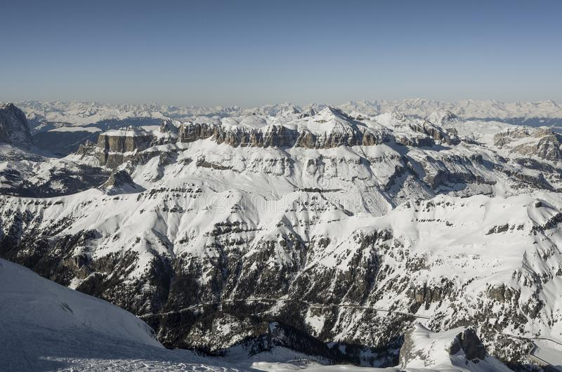 Άλπεις βουνών στην Ιταλία στοκ εικόνες