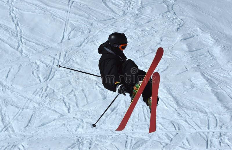 Άλτης σκι στοκ εικόνα