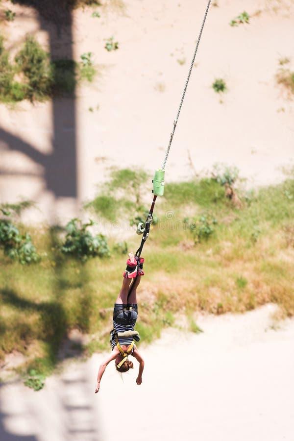 άλτης bungee 2 στοκ φωτογραφία με δικαίωμα ελεύθερης χρήσης