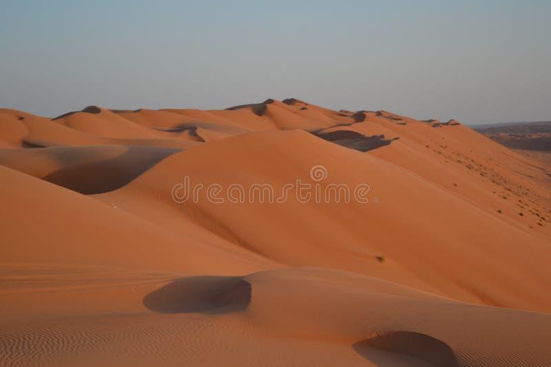 Άμμοι Wahiba (Sharqiya) στοκ εικόνα