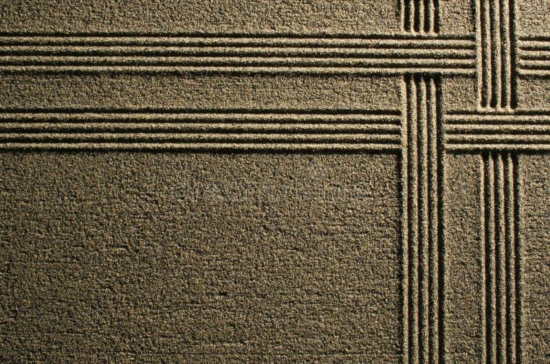 άμμος γραμμών στοκ εικόνες