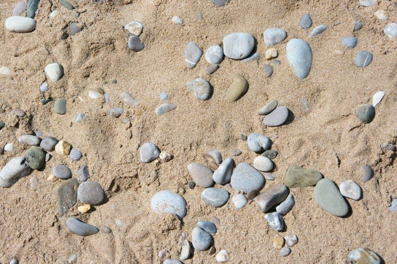 Άμμος και σύσταση χαλικιών στοκ εικόνες με δικαίωμα ελεύθερης χρήσης