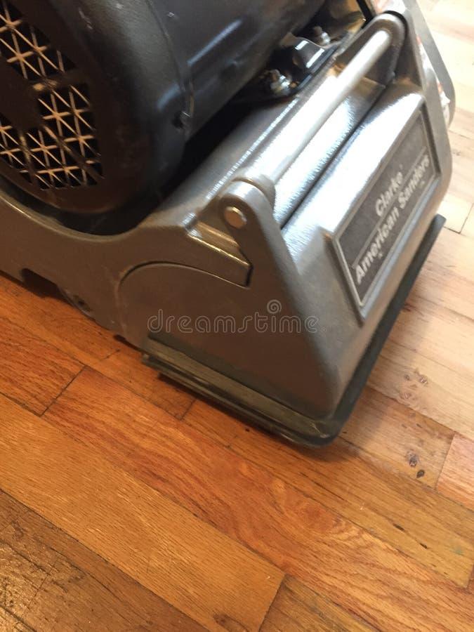 Άμμος και refinish πάτωμα στοκ φωτογραφία με δικαίωμα ελεύθερης χρήσης