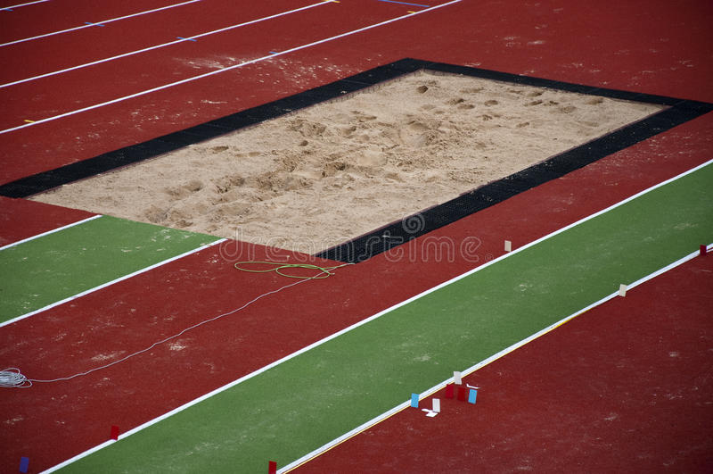 άμμος κιβωτίων στοκ φωτογραφία