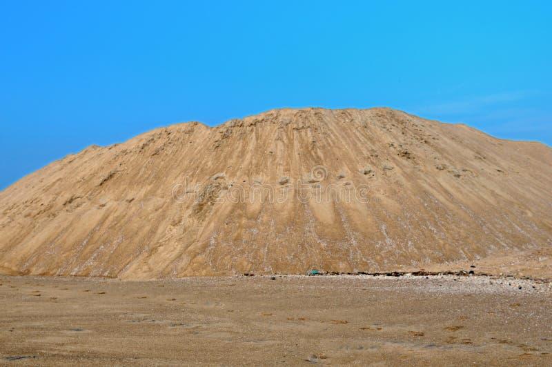 άμμος λατομείων στοκ εικόνες με δικαίωμα ελεύθερης χρήσης