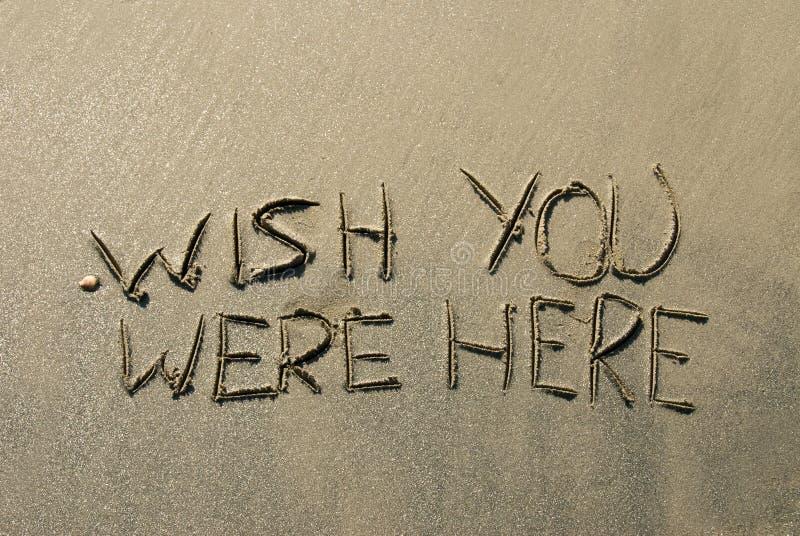 άμμος μηνυμάτων στοκ φωτογραφία με δικαίωμα ελεύθερης χρήσης