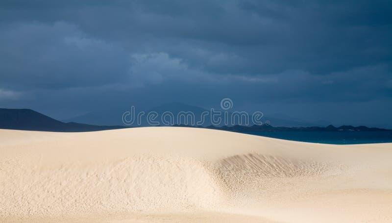άμμος πάρκων φύσης fuerteventura αμμόλο στοκ φωτογραφία με δικαίωμα ελεύθερης χρήσης