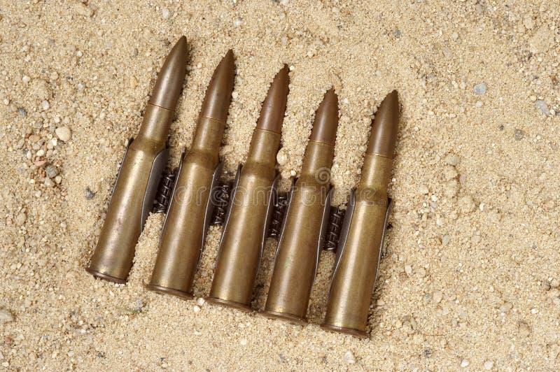 άμμος πυρομαχικών στοκ φωτογραφία με δικαίωμα ελεύθερης χρήσης