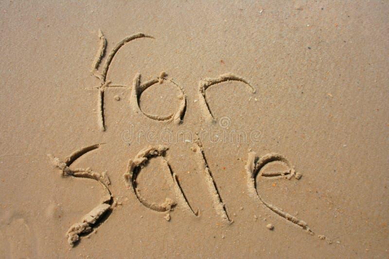 άμμος πώλησης στοκ φωτογραφία με δικαίωμα ελεύθερης χρήσης
