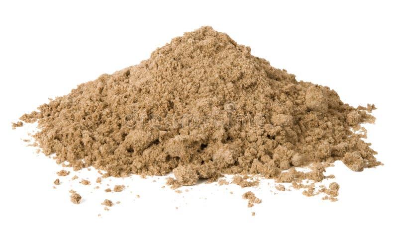 άμμος σωρών στοκ εικόνες