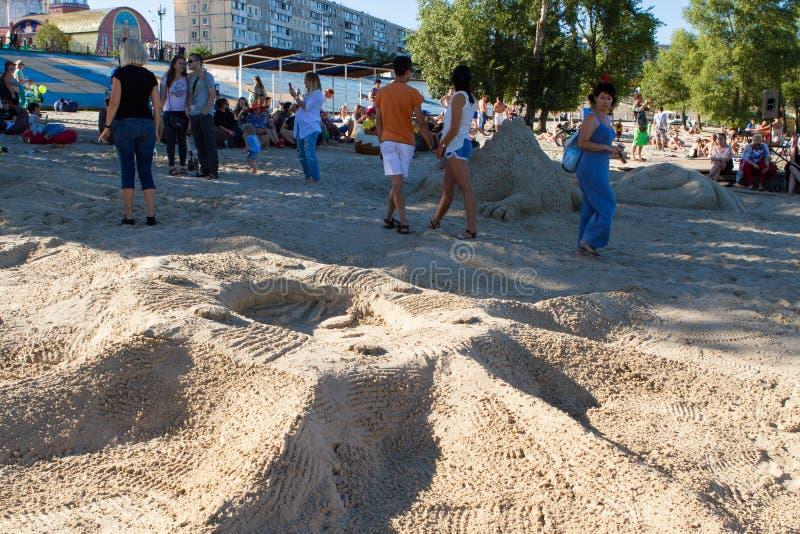 άμμος φεστιβάλ στοκ εικόνες με δικαίωμα ελεύθερης χρήσης