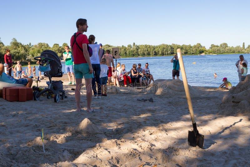 άμμος φεστιβάλ στοκ φωτογραφίες με δικαίωμα ελεύθερης χρήσης