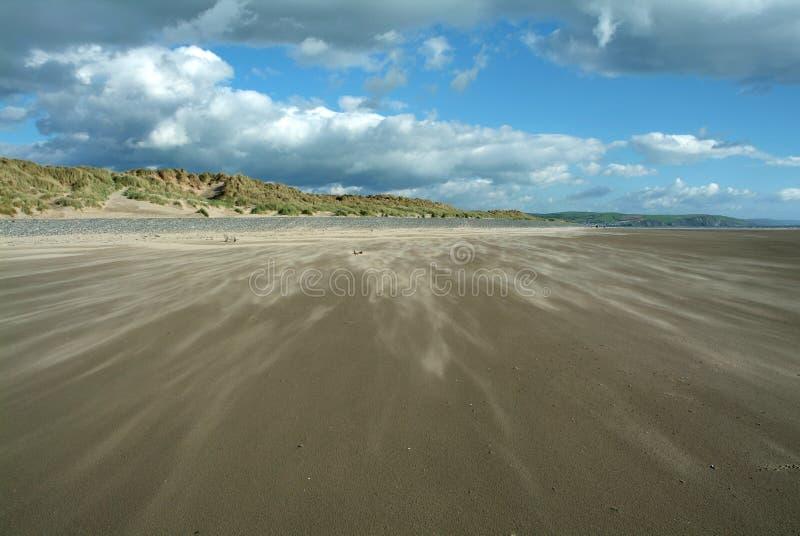 άμμος φυσήματος στοκ εικόνα