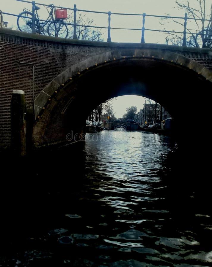 Άμστερνταμ 5 γέφυρες στοκ εικόνες