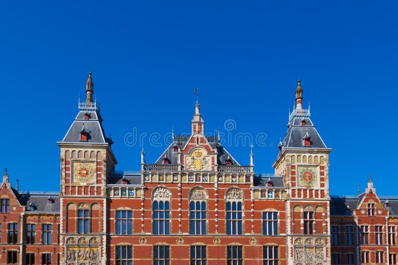 Άμστερνταμ Centraal, οι Κάτω Χώρες στοκ εικόνες