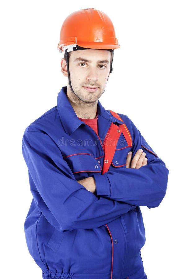 άνδρες εργαζόμενος κατ&alpha στοκ εικόνα με δικαίωμα ελεύθερης χρήσης