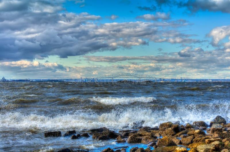 Άνεμοι Chesapeake στοκ φωτογραφία