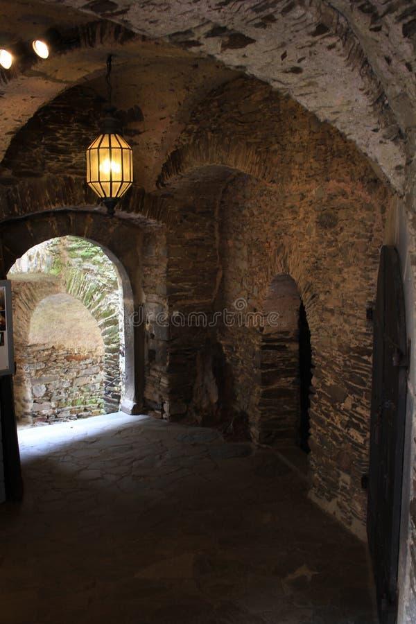Άνεμος περιποίηση Castle εσωτερικών κλιμακοστάσιων πετρών στοκ εικόνα με δικαίωμα ελεύθερης χρήσης