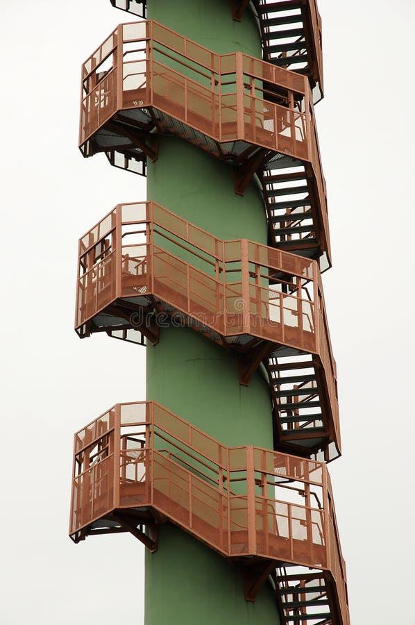 Άνεμος σκαλοπάτια στοκ εικόνες με δικαίωμα ελεύθερης χρήσης