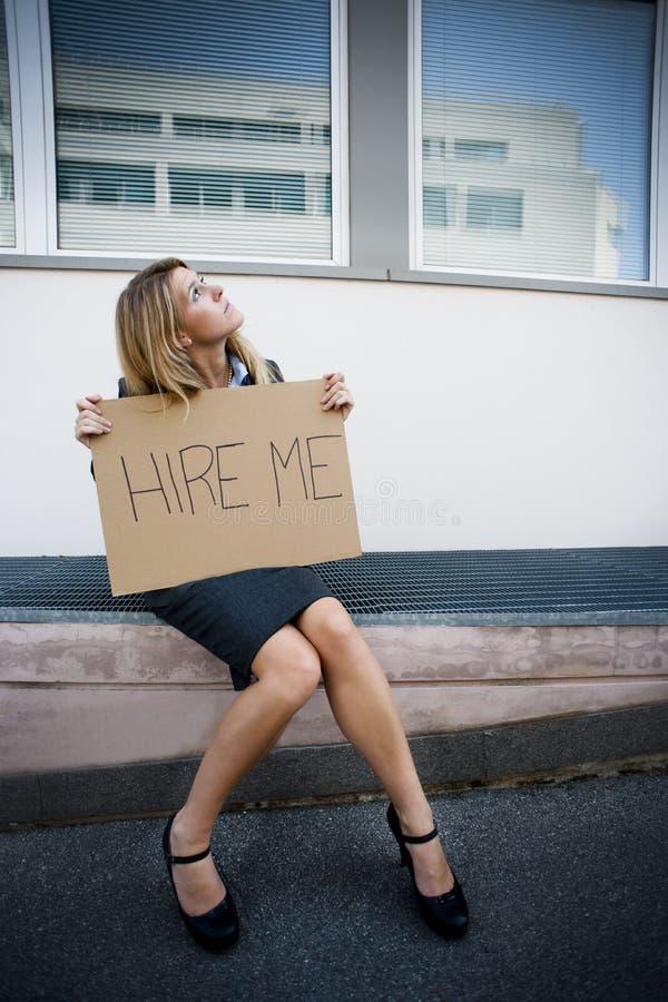 άνεργες νεολαίες γυνα&io στοκ εικόνες με δικαίωμα ελεύθερης χρήσης