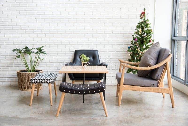 Άνετη γωνία καναπέδων στοκ φωτογραφία