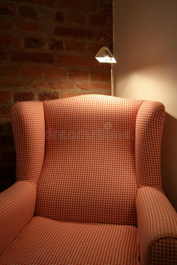 Άνετη καρέκλα φτερών στοκ εικόνα με δικαίωμα ελεύθερης χρήσης