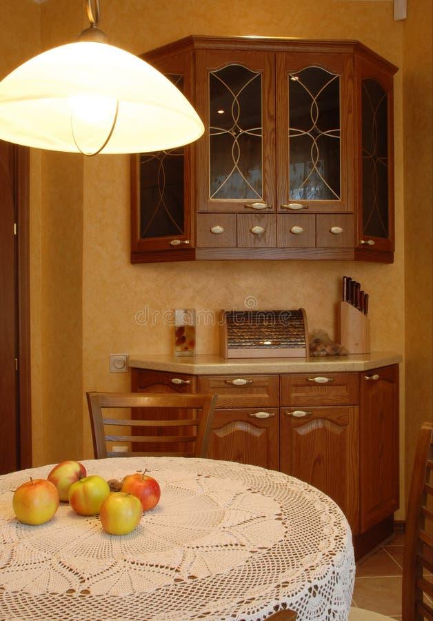 άνετη κουζίνα 2 στοκ εικόνες