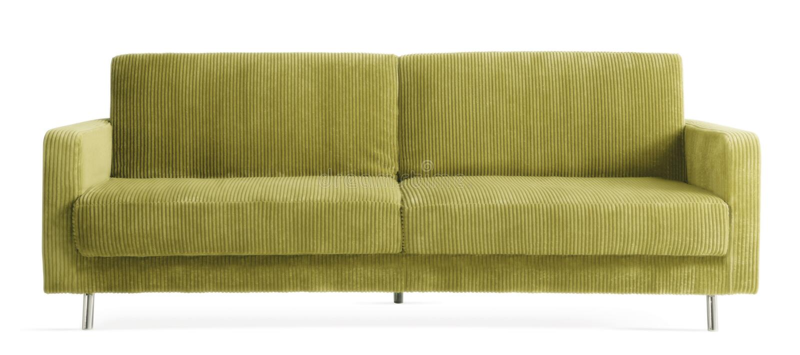 Άνετος σύγχρονος καναπές στοκ φωτογραφίες