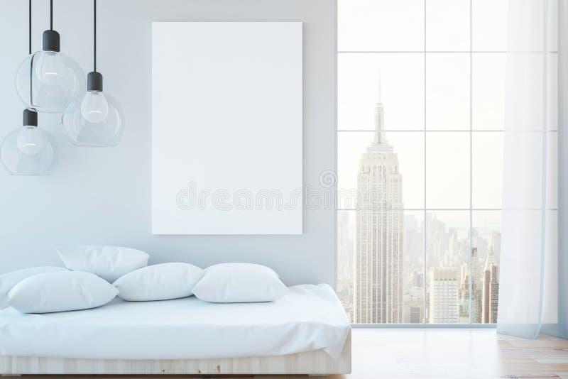 Άνετο εσωτερικό με το whiteboard διανυσματική απεικόνιση
