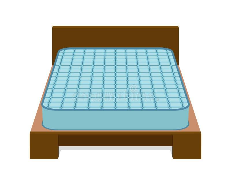Άνετο στρώμα για τον ύπνο στο κρεβάτι ελεύθερη απεικόνιση δικαιώματος